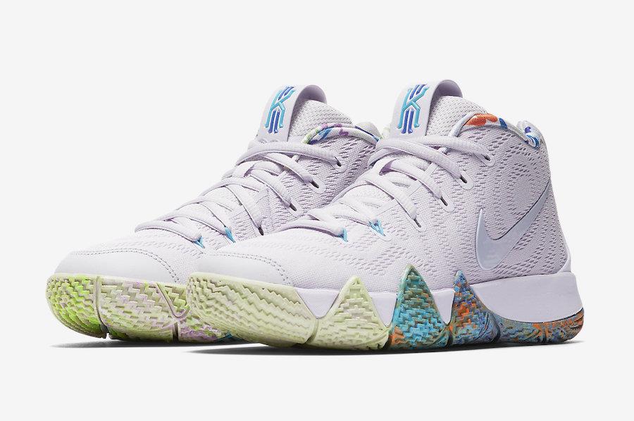 best sneakers 3740b cf330 Release Date: Nike Kyrie 4 90s • KicksOnFire.com