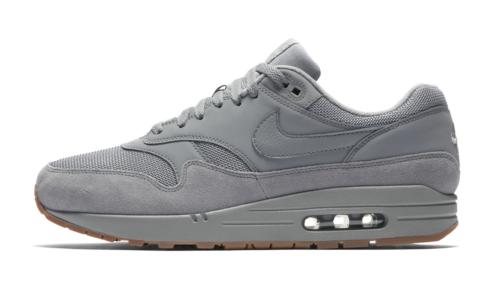 pick up designer fashion latest Look Out For The Nike Air Max 1 Wolf Grey Gum • KicksOnFire.com