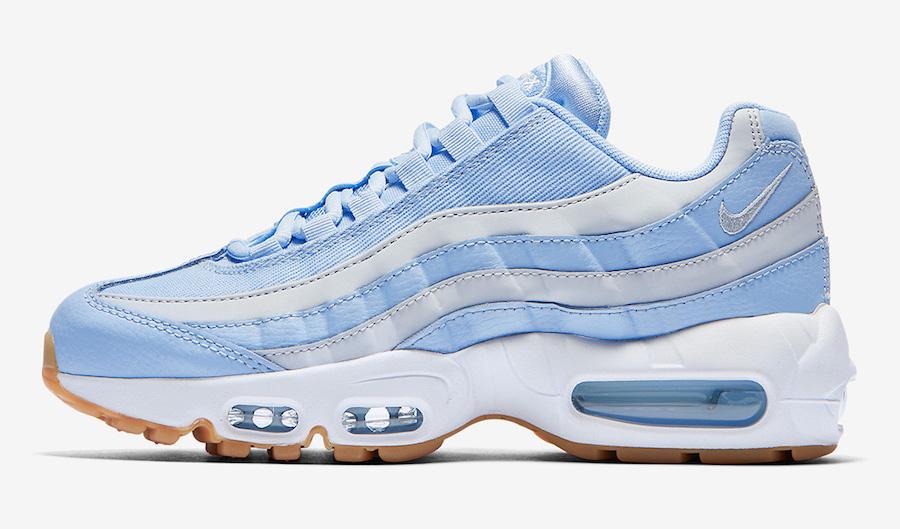 air max 95 blu e bianche
