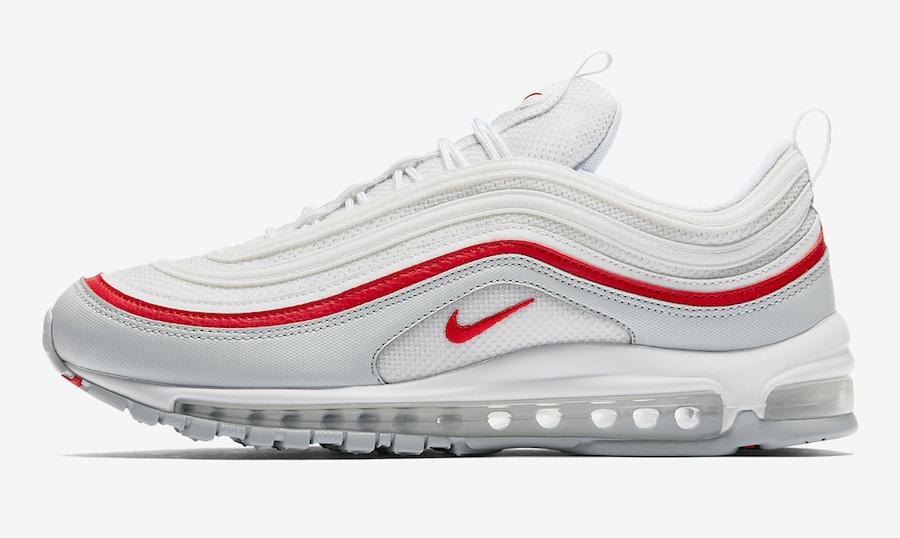 timeless design 29997 3cc3b Nike Air Max 97 White Red Coming Soon • KicksOnFire.com