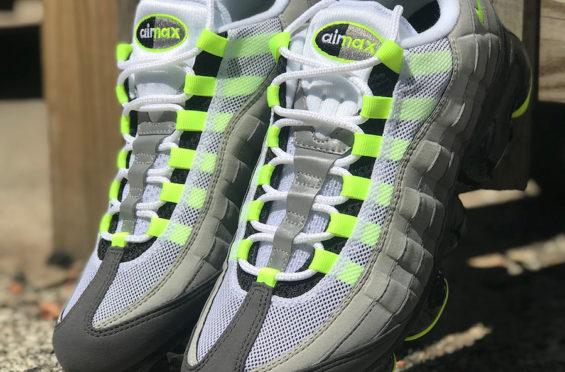 separation shoes ad0fb 93909 Release Date: Nike Air VaporMax 95 OG Neon • KicksOnFire.com