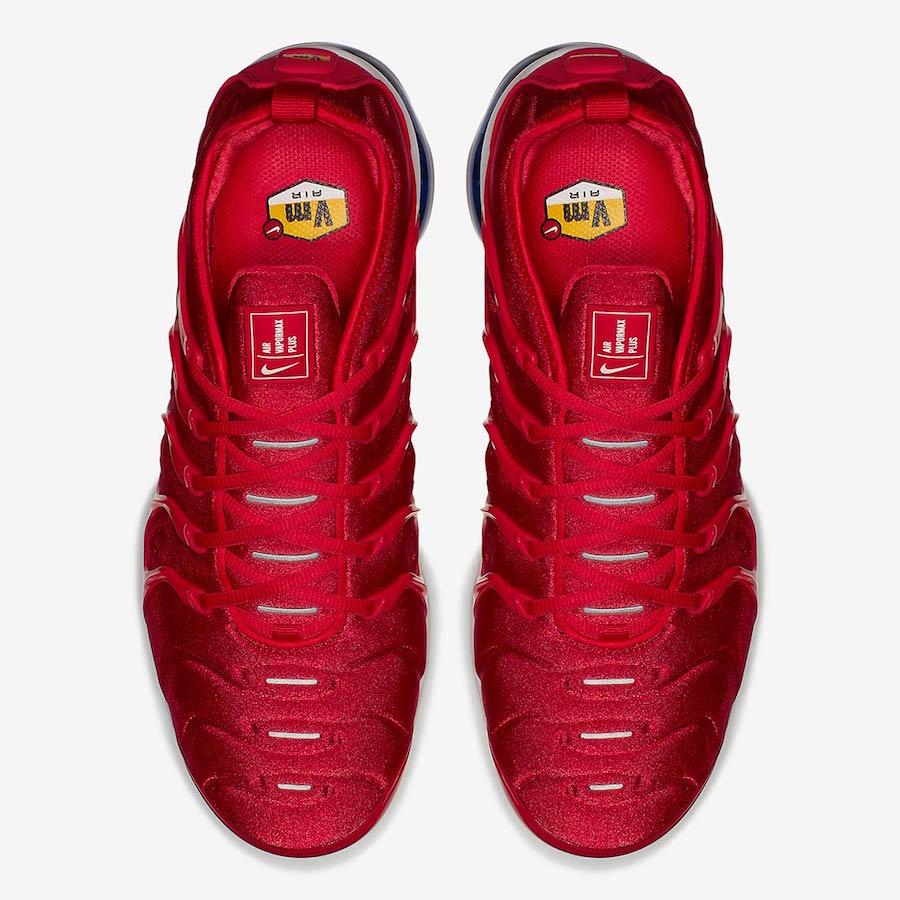 brand new cc95a 32c11 Get The Nike Air VaporMax Plus USA (Firecracker) Now ...
