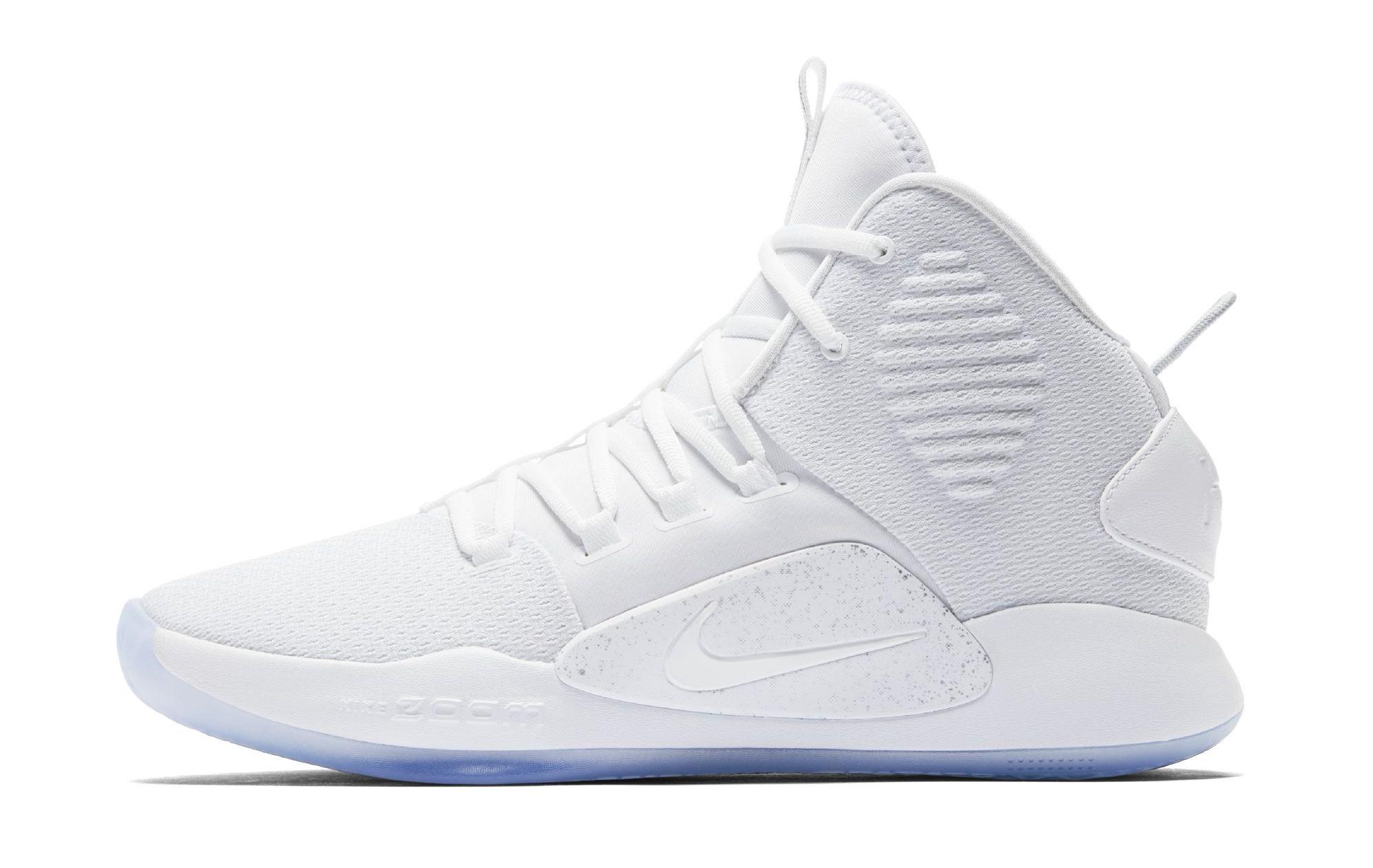 Nike Hyperdunk X Triple White Releasing