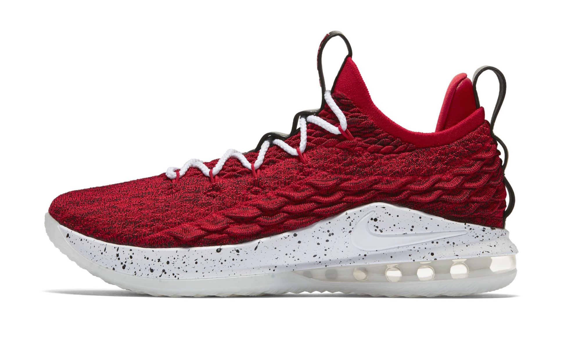 outlet store a51aa f7856 Official Images: Nike LeBron 15 Low University Red ...