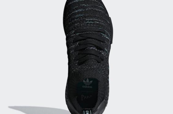 adidas NMD R1 Primeknit STLT Parley Black | SneakerFiles