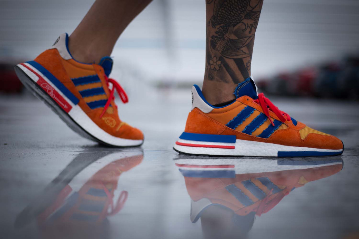 wholesale dealer ea88f f6c34 Are You Waiting For The Dragon Ball Z x adidas ZX 500 RM Son ...