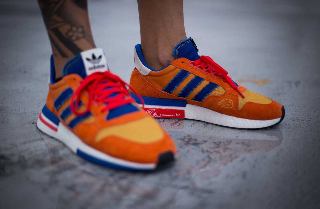 wholesale dealer e396a f845e Are You Waiting For The Dragon Ball Z x adidas ZX 500 RM Son ...