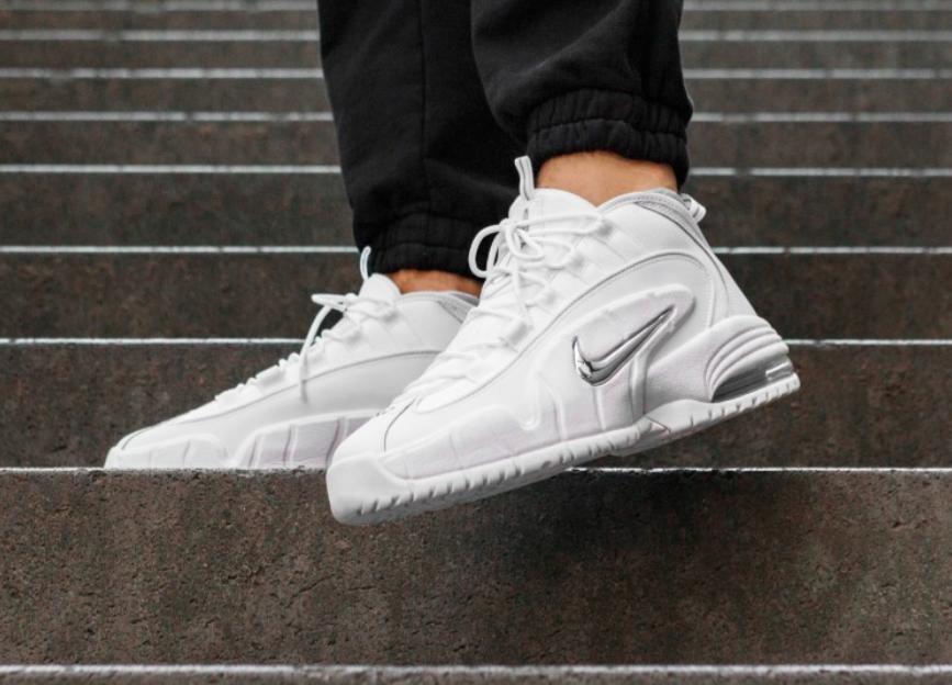 best service 0d5b7 f4c81 Release Reminder: Nike Air Max Penny 1 White Metallic ...