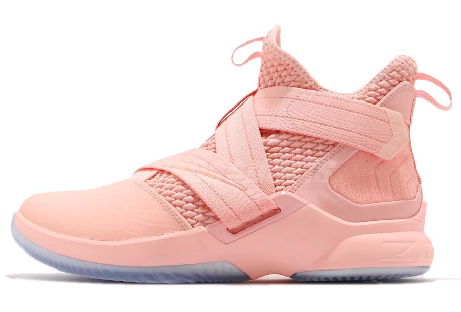 sale retailer ea585 357a2 First Look: Nike LeBron Soldier 12 Pink • KicksOnFire.com