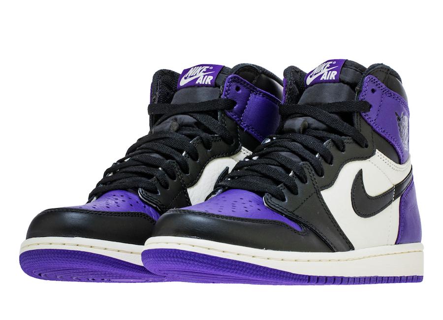 sneakers for cheap 3a7fa 2cbfe Air Jordan 1 Retro High OG Court Purple • KicksOnFire.com
