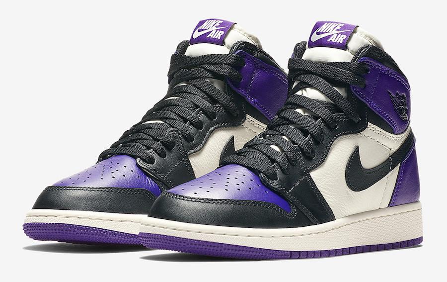 sneakers for cheap 22977 4c333 Air Jordan 1 Retro High OG Court Purple • KicksOnFire.com