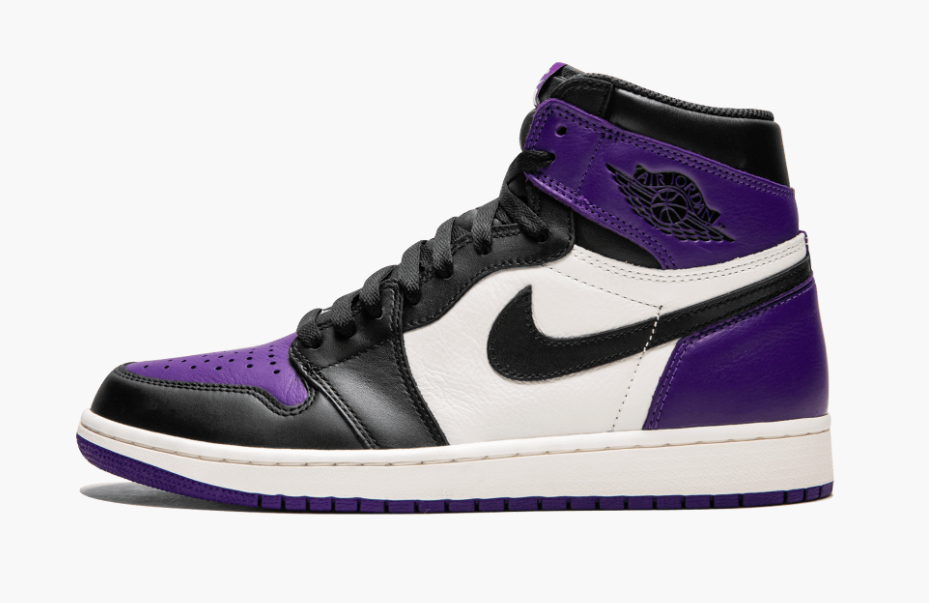 sneakers for cheap 30033 82830 Air Jordan 1 Retro High OG Court Purple • KicksOnFire.com