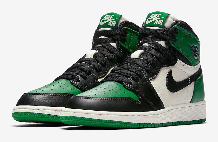 Air Jordan 1 Retro High OG Pine Green • KicksOnFire.com