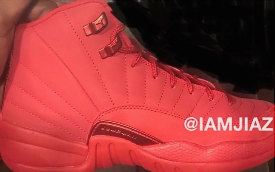 buy popular 3585f 4a26e First Look At The Air Jordan 12 Bulls Gym Red • KicksOnFire.com