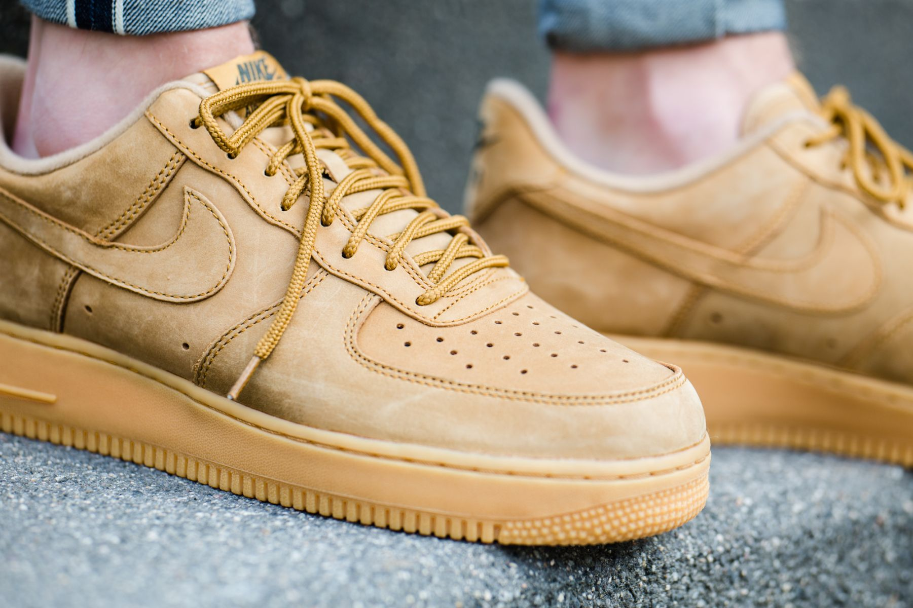 5bb1544377a Look For The Nike Air Force 1 Low Flax Soon • KicksOnFire.com