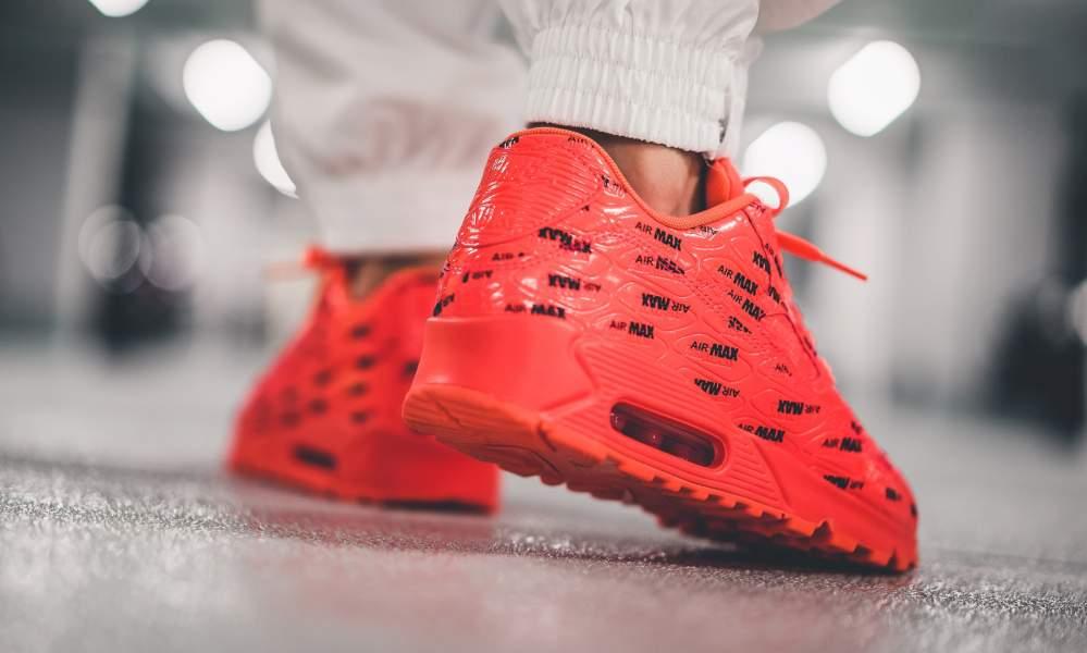 Buy The Nike Air Max 90 Premium Air Max Bright Crimson Here