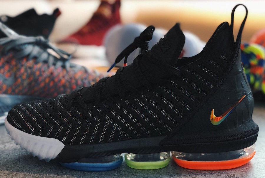 Nike LeBron 16 I Promise Arriving This