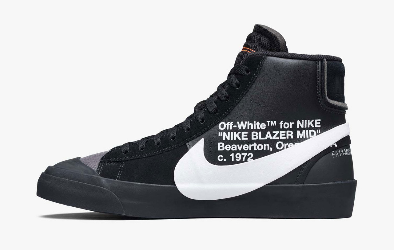 Official Images: OFF-WHITE x Nike Blazer Mid Grim Reaper