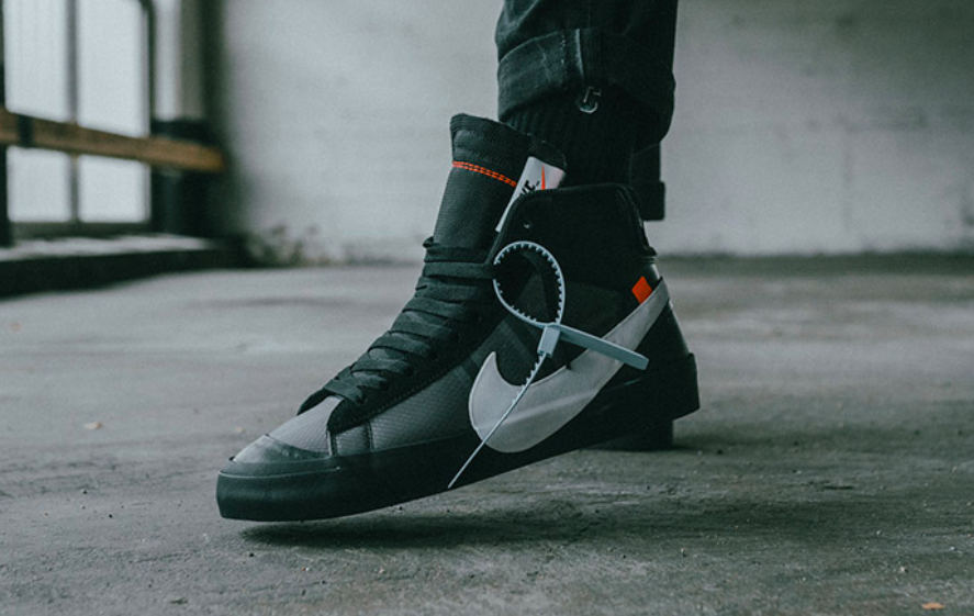 100% top quality outlet on sale fashion style OFF-WHITE x Nike Blazer Mid Grim Reepers Dropping Next Month ...