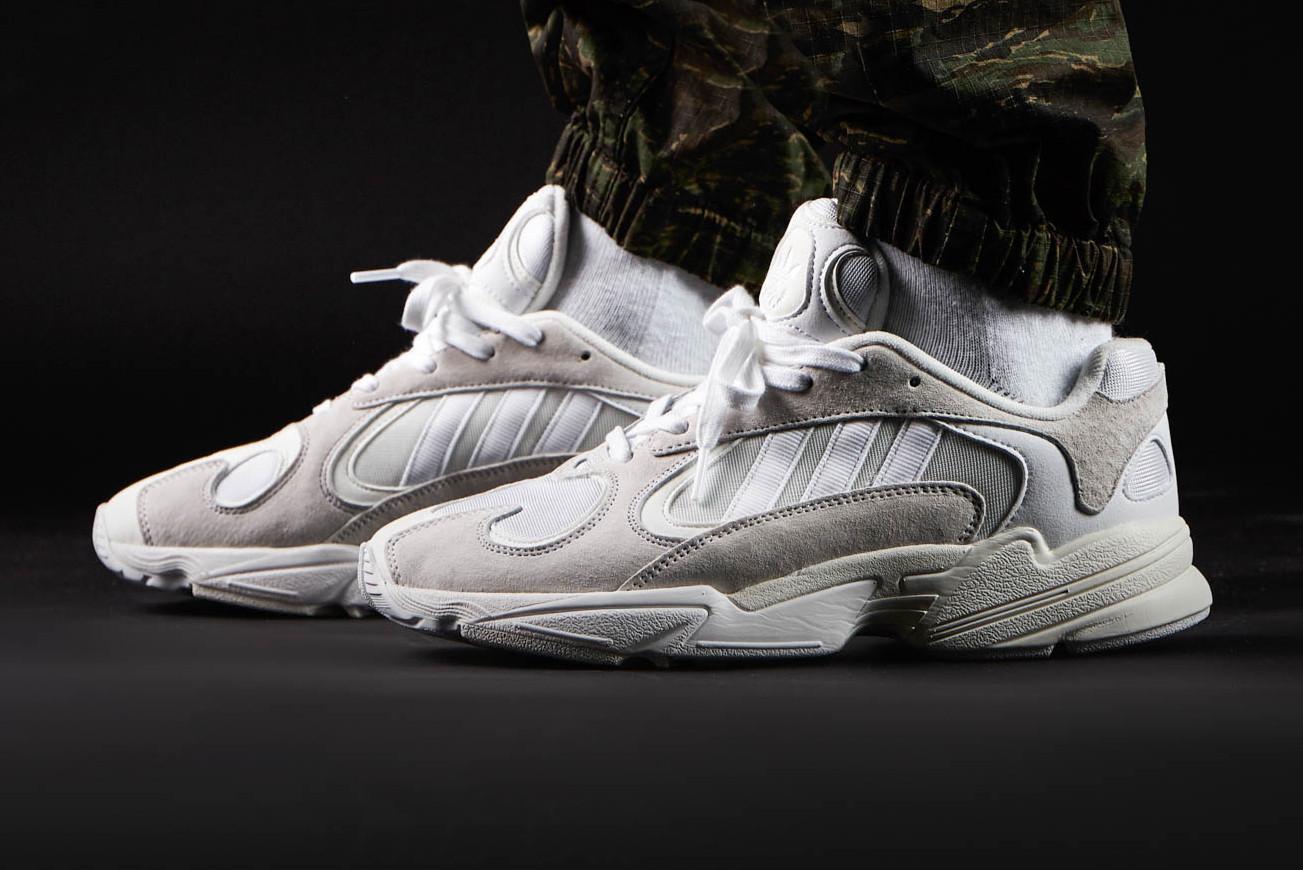 adidas yung on feet