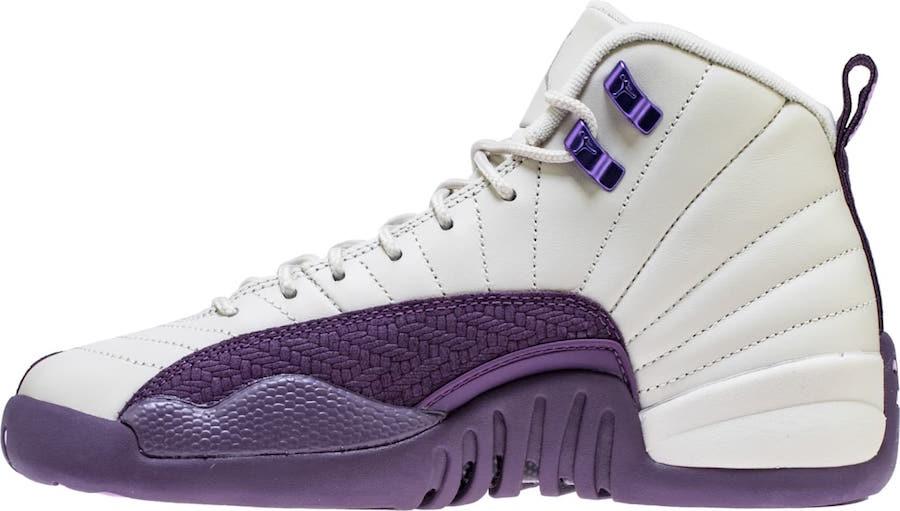 big sale 1330a 54a1c Air Jordan 12 GS Pro Purple • KicksOnFire.com