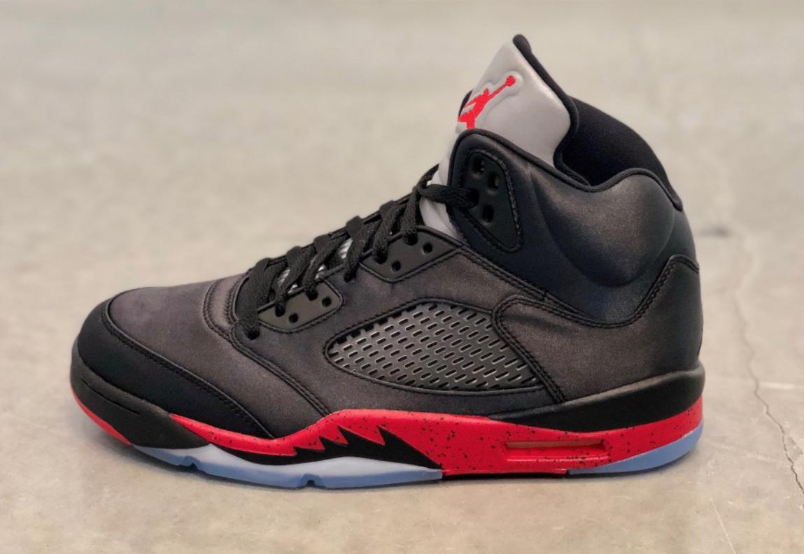 sports shoes f34a7 32123 Air Jordan 5 Satin Bred • KicksOnFire.com