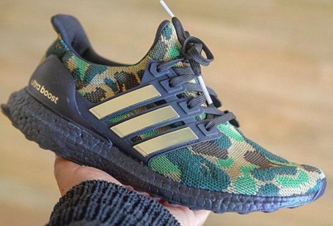 Are You Looking Forward To The BAPE x adidas Ultra Boost