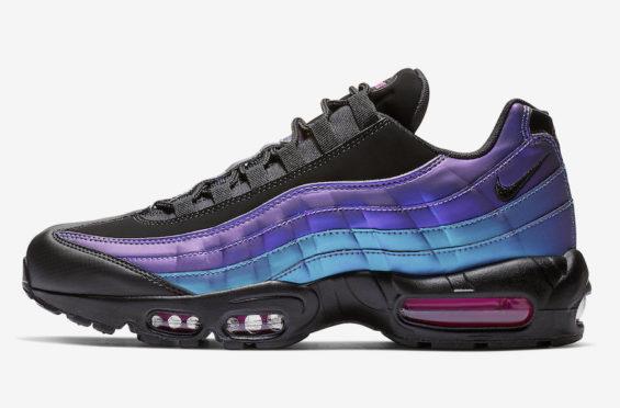 nike air max 95 purple black
