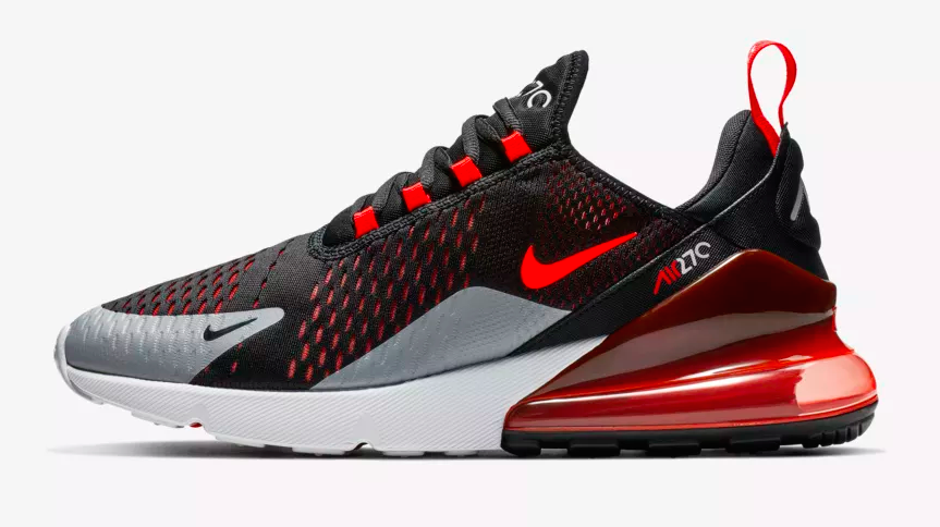 Look For The Nike Air Max 270 Black Hyper Crimson Now ...