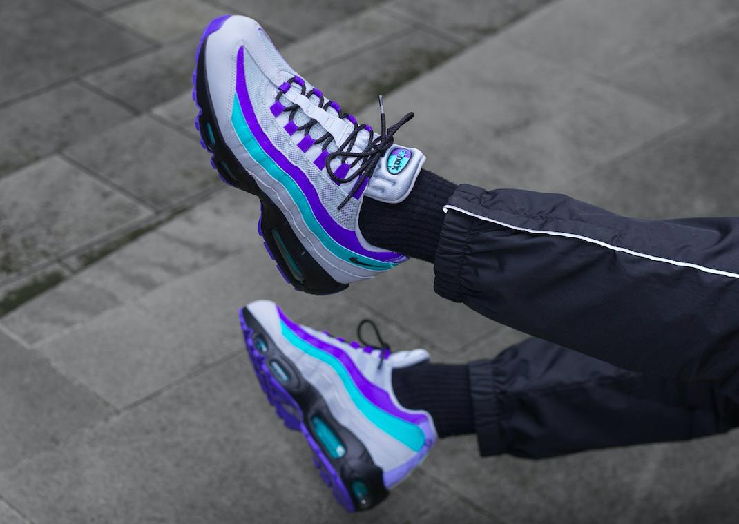 Look For The Nike Air Max 95 OG Aqua Tomorrow • KicksOnFire.com