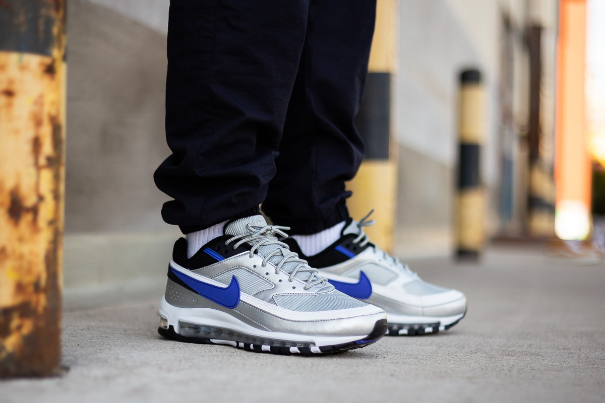 Nike Air Max 97BW Metallic Silver Persian Violet