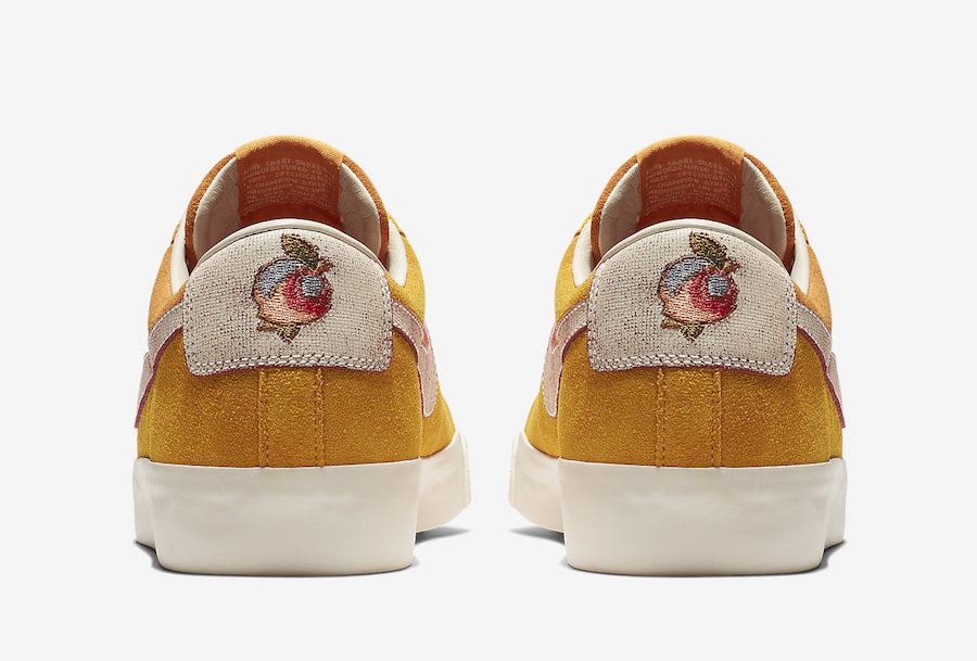 buy popular 403e1 1d525 Release Date: Nike SB Blazer Low GT Bruised Peach ...