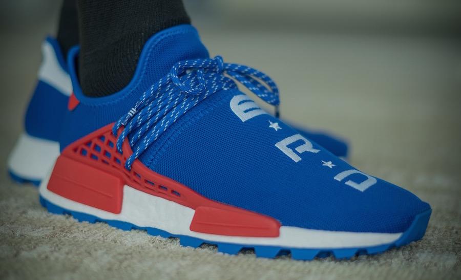 huge selection of df38d b55e2 Release Date: Pharrell x adidas NMD Hu NERD Blue ...