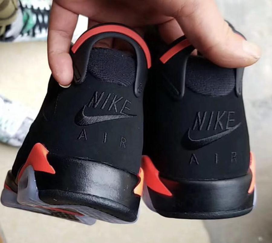 check out e84d0 19eda First Look: Air Jordan 6 Black Infrared 2019 • KicksOnFire.com