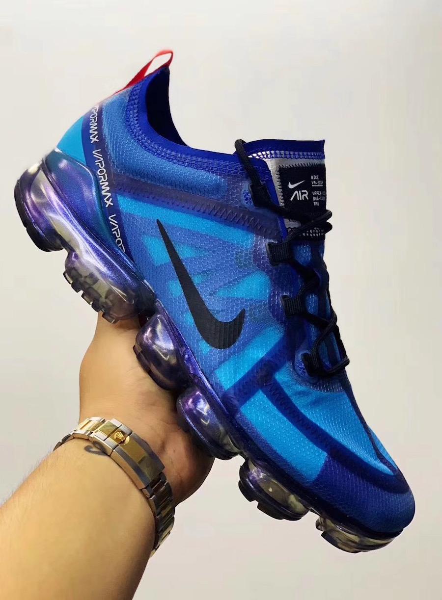 First Look: Nike Air VaporMax 2019 Blue