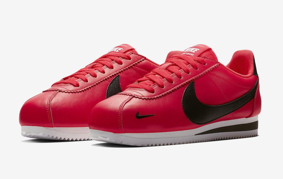 new style c069d bd0de The Nike Cortez Premium Red Orbit Drops Next Month ...