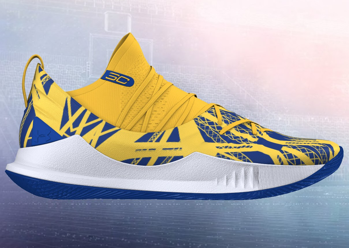 check out fc047 01d9a This Is The Under Armour Curry 5 Steph Curry Will Be Wearing ...