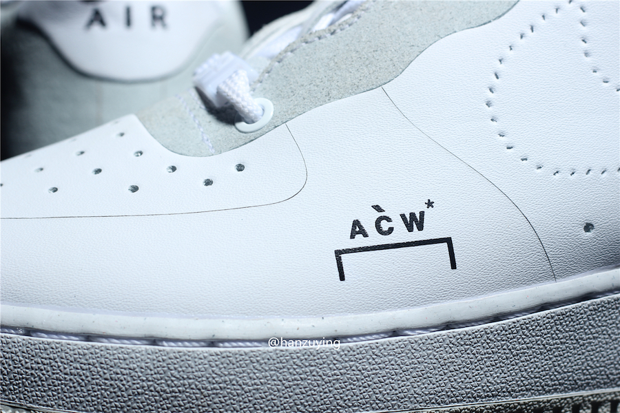 buy popular 20a8e 16911 A-COLD-WALL* x Nike Air Force 1 Low White Dropping Soon ...