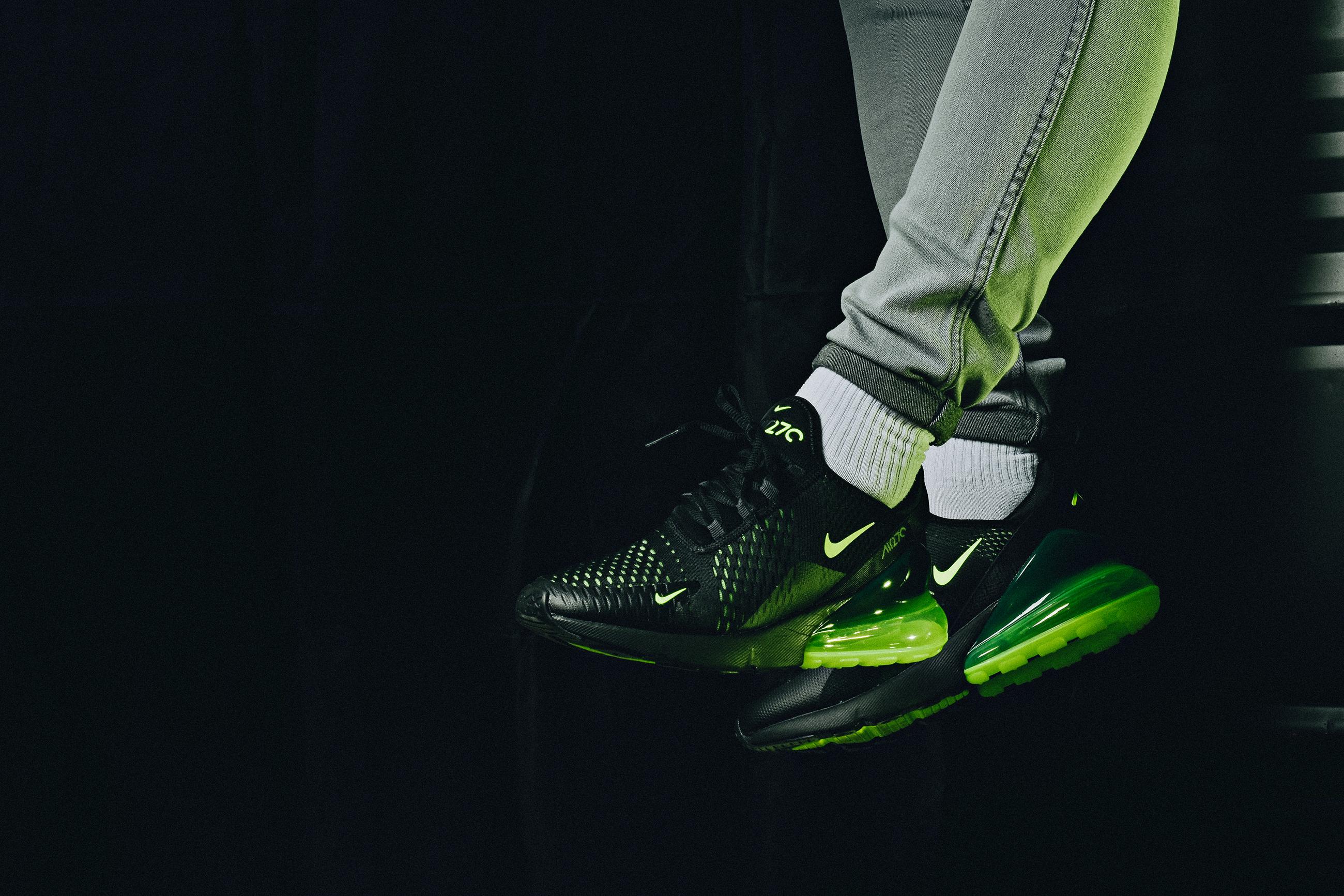 innovative design e6639 e460c Available Now: Nike Air Max 270 Volt Black • KicksOnFire.com