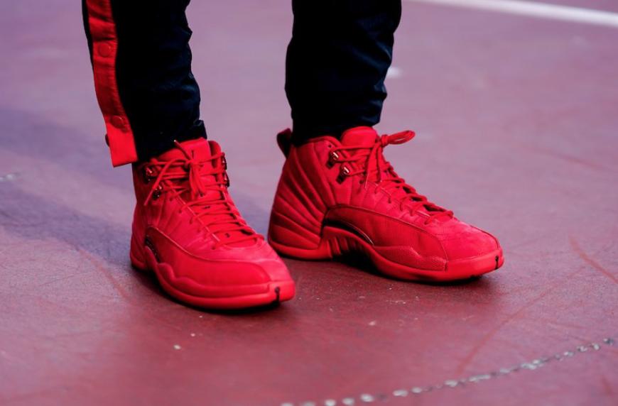 Air Jordan 12 Bulls (Gym Red
