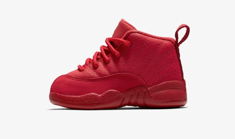 official photos 22fd6 a1301 Air Jordan 12 Bulls (Gym Red) • KicksOnFire.com