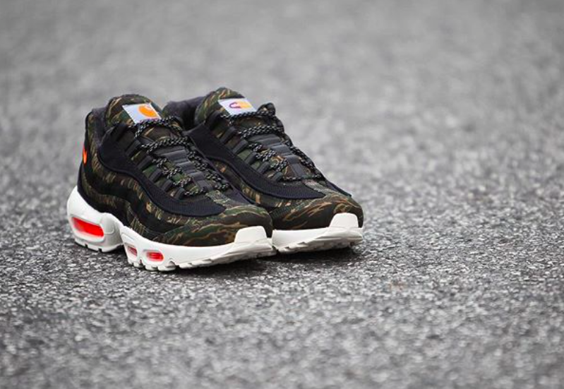 on sale eb1ea 965f7 Are You Copping The Carhartt WIP x Nike Air Max 95 Tiger ...