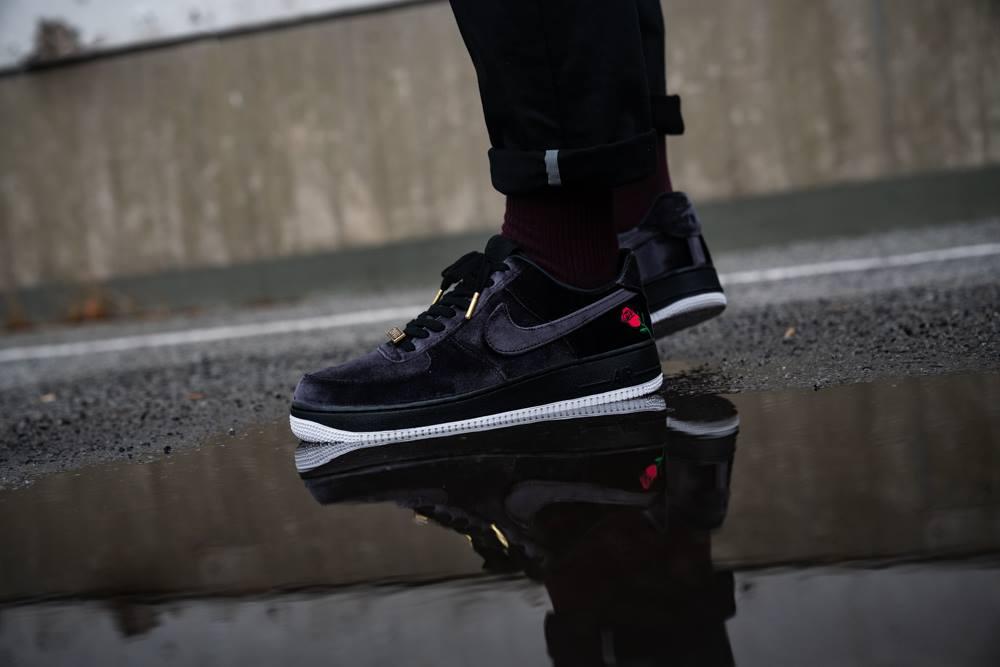 Release Reminder: Nike Air Force 1 Satin Rose •