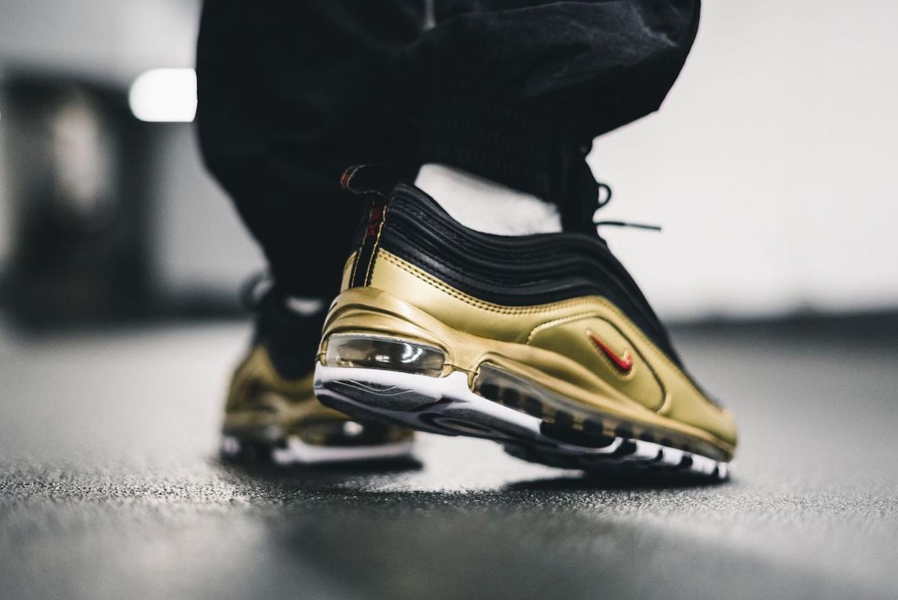 air max 97 gold metallic