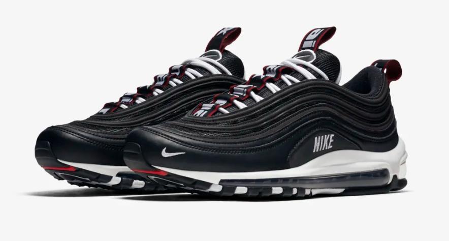 Release Date: Nike Air Max 97 Premium Black Varsity Red