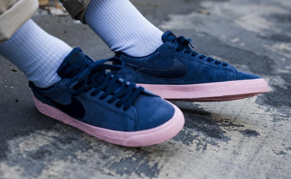 best website db6d8 50fd4 Look Out For The Nike SB Blazer Low Bubble Gum • KicksOnFire.com