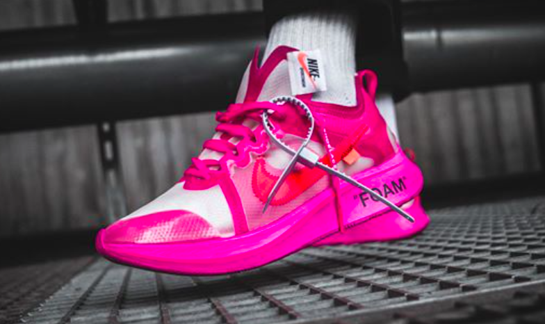 online store online retailer discount sale Are You Waiting For The OFF-WHITE x Nike Zoom Fly SP Tulip Pink ...