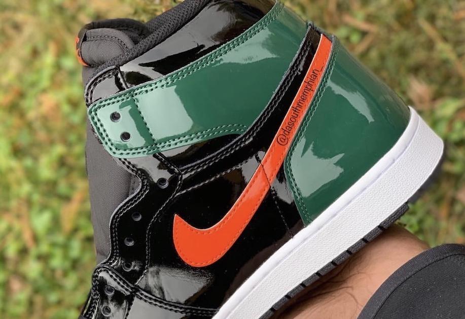SoleFly x Air Jordan 1 Patent Leather