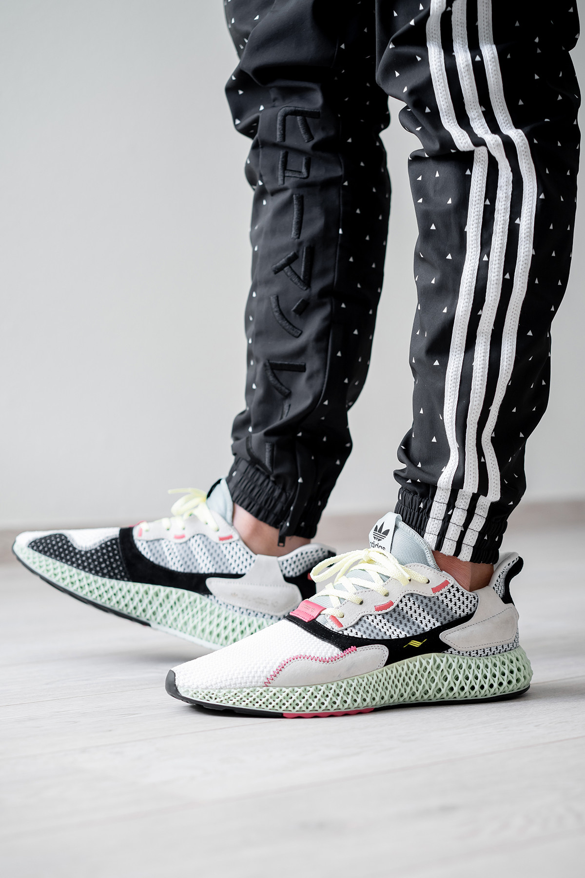 separation shoes 2262e fde25 Release Date: adidas ZX 4000 4D Footwear White Grey ...