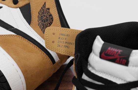 moda zamówienie Stany Zjednoczone The Air Jordan 1 Retro High OG Rookie Of The Year Finally ...
